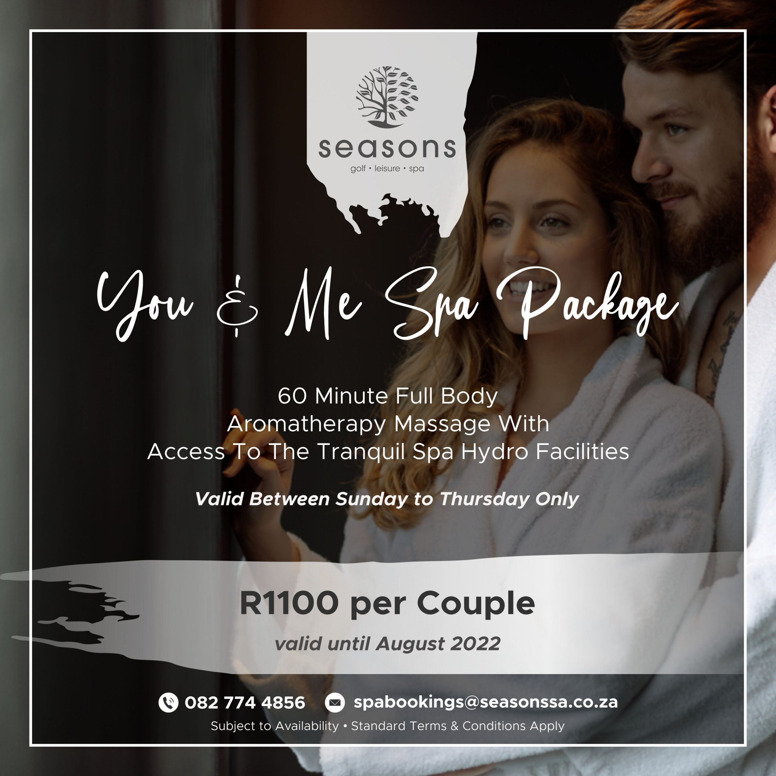 You & Me Spa Package